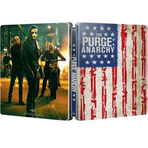 Blu-ray - The Purge: Anarchy (Steelbook) für €9,12 [@Zavvi.com]