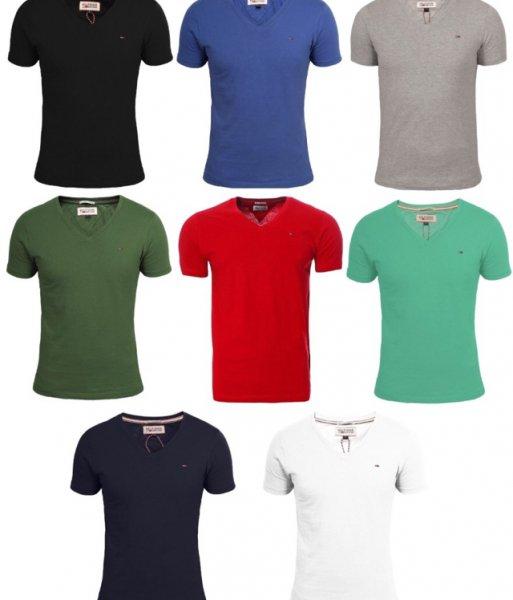 Tommy Hilfiger v-neck Tshirt verschiedene Farben