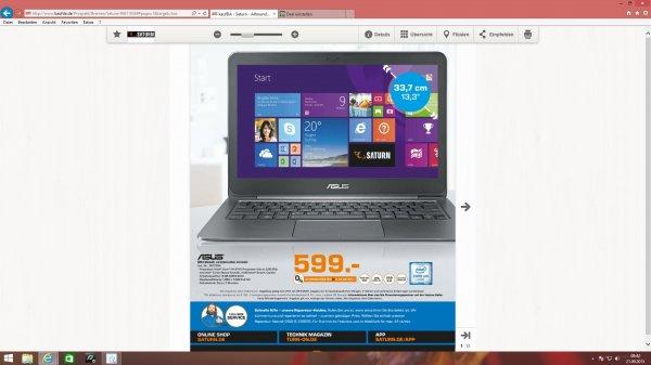 Asus Zen Book UX 305 für 599,- (Ultrabook)