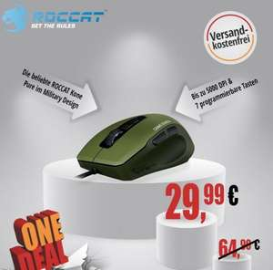 Roccat Kone Pure Military Camo Charge Gaming Maus@One.de 29,99 €