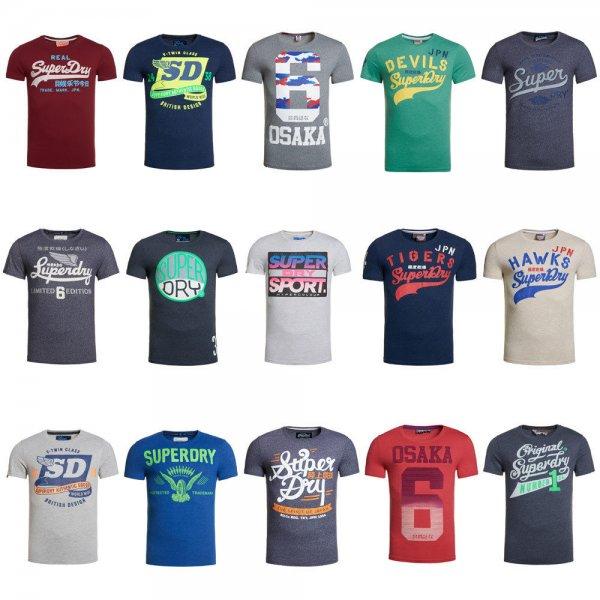 Herren Superdry B-Ware T-Shirts Versch. Modelle und Farben, 12,95 EUR @ ebay