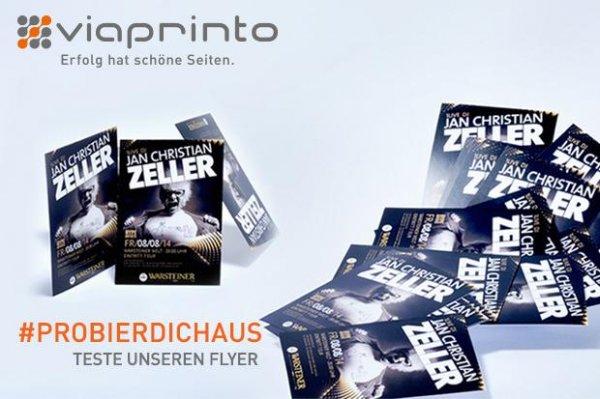 1000 Flyer im Wert von 163€ gratis für Firmenkunden