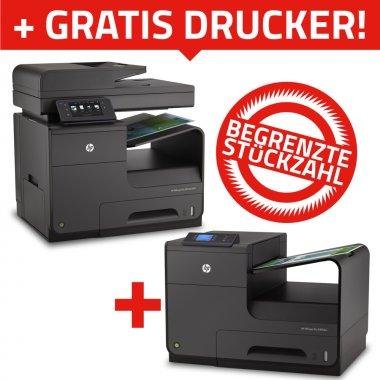 [Office-Partner] 1x HP OfficeJet Pro X476dw  + 1x OfficeJet Pro X451dw  für 311€ (PVG: 448,50€)