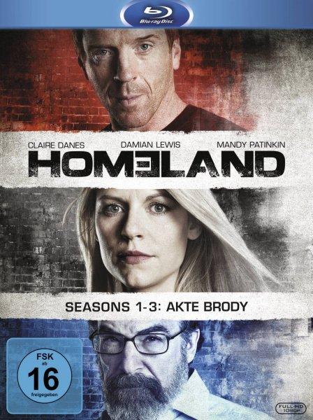 Homeland 1-3 [9 Blu-rays] für 42,97€ @Amazon.de