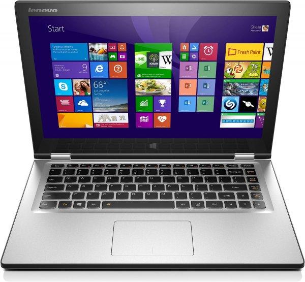 [Amazon] Lenovo Yoga 2 13 Convertible Ultrabook (13,3'' FHD IPS Touch, Intel Core i3-4030U, 4GB RAM, 128GB SSD, Tastaturbeleuchtung, Win 8.1 -> Win 10) für 499€