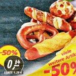 3 Laugenbrezeln 50% günstiger für zusammen nur 64 Cent [Real]