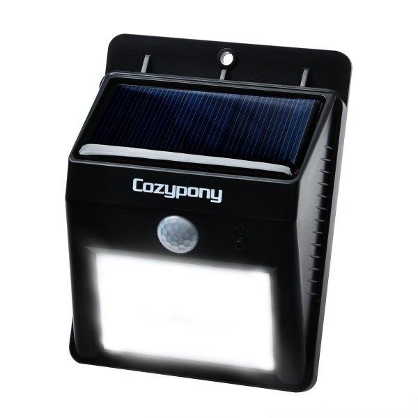 @Amazon: Solarleuchten 8 LED Wasserdichter Solar Betriebener Batterie- und Drahtloser Bewegungsmelder ab 11,99€ mit Prime