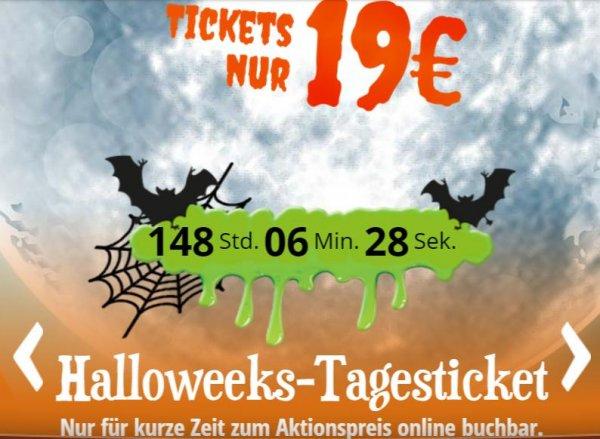 Heidepark Soltau Halloweeks: Tickets für 19 Euro