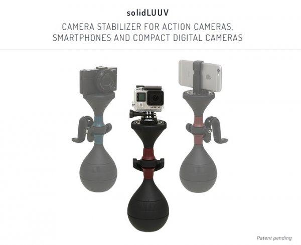 SolidLuuv & UltraLuuv 2x3-Achsen Gimbal Schwebestativ für alle Kameras bis 500gr. [Kickstarter]