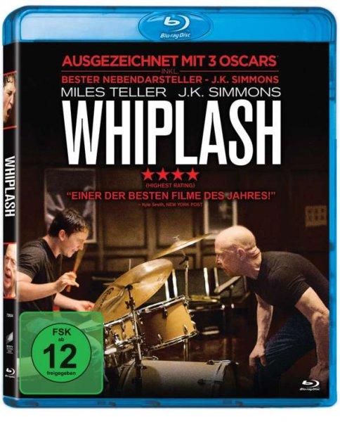 Whiplash [Blu-ray] für 9,97€ bei Amazon.de (Prime)
