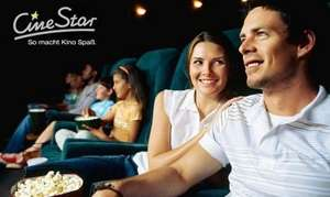 4 CineStar Kinogutscheine für alle Platzkategorien plus Popcorn (Groupon)