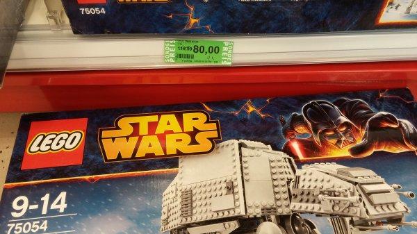 (Rossmann grüne Preise) Lego Star Wars AT-AT für 72,00 € und viele andere Star Wars Sets!