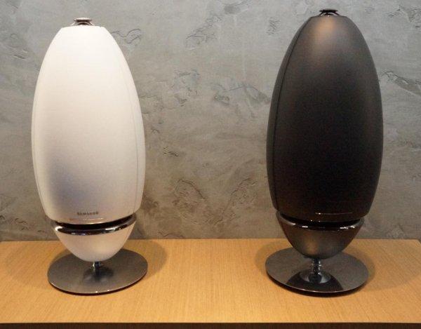 Samsung WAM7500 schwarz & weiß Multimedia-Lautsprecher Wireless Audio - 360 Speaker R7@proshop