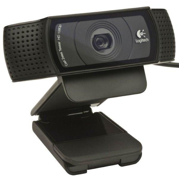 Logitech C920 HD Pro HD-Webcam für 49,96 € @Amazon.co.uk