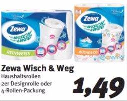[FENEBERG / KAUFMARKT] Zewa Wisch & Weg 2x72 Blatt Märchenedition / 4x45 Blatt für 0,99€ (Angebot+Coupon)
