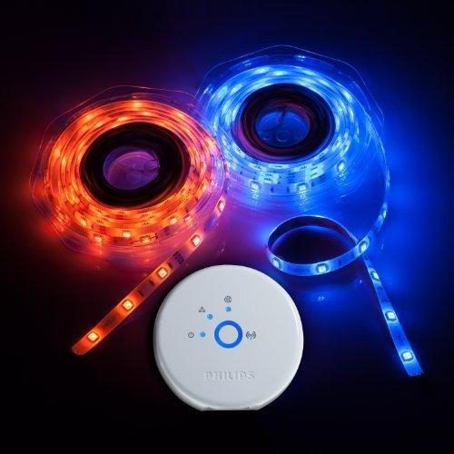 [Amazon FR] Philips Friends of hue - LightStrips - Starter Kit inkl. hue Bridge für €154,89