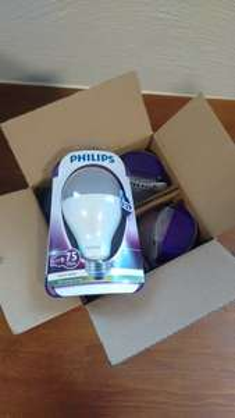 Philips LED Leuchtmittel E27 11,5 Watt ~ 75 Watt Birne für 4,99 Euro