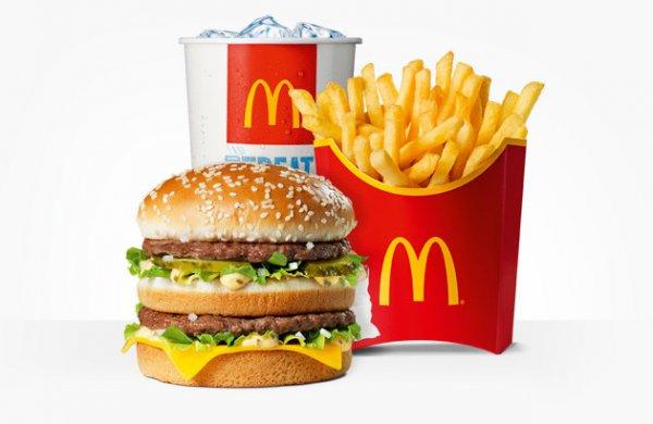 [(Grenzgänger) PL] McDonalds u.a. Big Mac o. 6er Nuggets Menü für 10zl/~2.40€