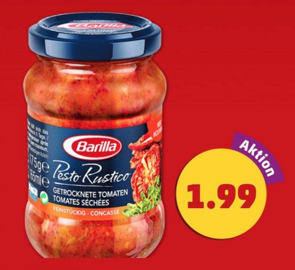 Barilla Pesto Rustico für 0,50€
