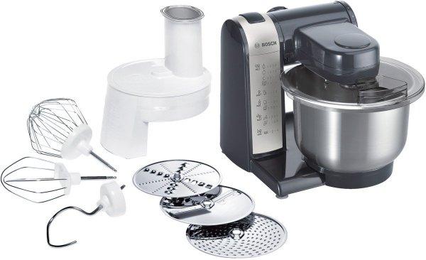 Bosch MUM48A1 Küchenmaschine anthrazit/silber für 89 € statt 110 €, @Cyberport