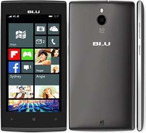 "BLU Win JR Windows Smartphone (4,5"" FWVGA, Snapdragon 410 (4x 1,2Ghz ), 1GB Ram, LTE + Dual Sim, 8 GB Speicher (erweiterbar), 5MP Kamera mit LED Flash für 79€ bei Amazon.de"