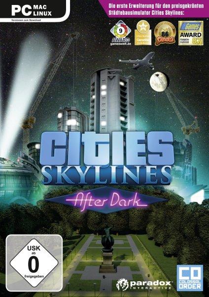 Cities: Skylines After Dark + Random Steam Spiel