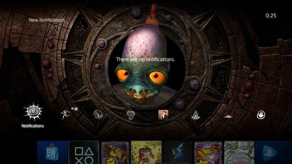 PSN: PS4 Dynamisches Design Oddworld (DE)