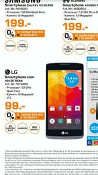 SATURN HAMBURG LG Leon Titan 4G