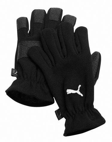 Puma / Winter Feldspielerhandschuhe black-white / Größen: 4 bis 12 / @Sportbedarf.de