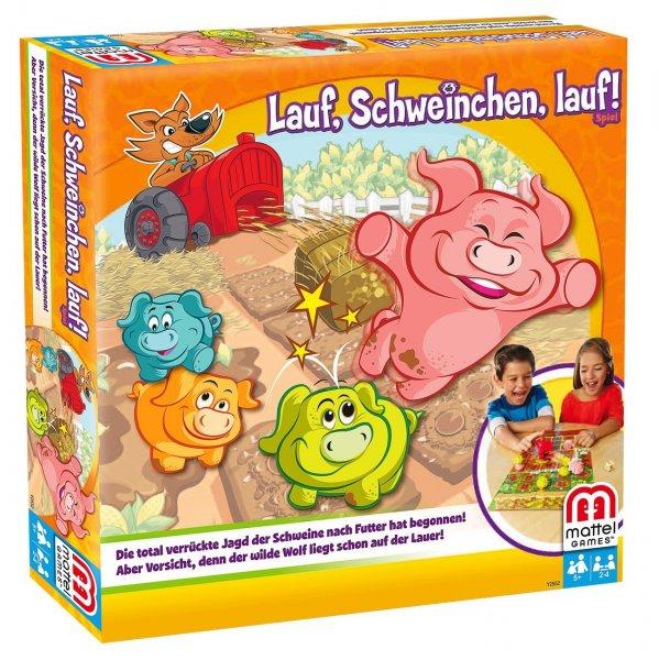 [Amazon+ Produkt] Lauf Schweinchen lauf, Strategiespiel für Kinder für 4,47€ [MBW 29€/Plus-Produkt-Trick]