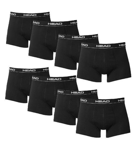 HEAD Herren Boxershorts 8er Pack in schwarz @Amazon-Blitzangebote für 26,99€