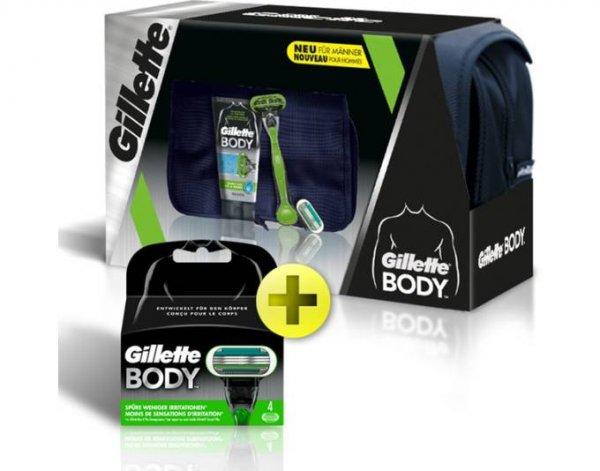 Gillette Body Geschenkset, Herren-Geschenkset, + dunkelblaue Kulturtasche @allyouneed