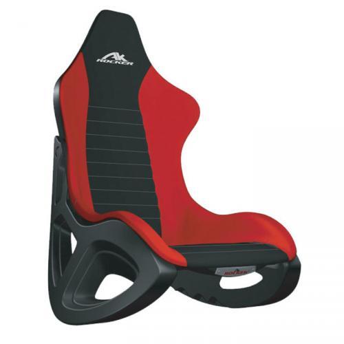 AK 100 Rocker Gaming Stuhl Wippstuhl Sessel für 53,94€ in schwarz/rot von LIMAL @ebay.de