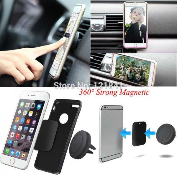 Smartphonehalterung fürs Auto / Magnetisch / Lüftung  - aus China für 1,81€
