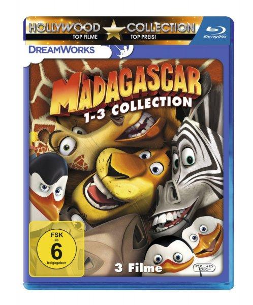 Madagascar 1-3 Blu-Ray [Prime] 32% Ersparnis