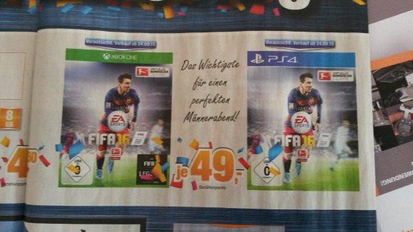[lokal Lüneburg ] Fifa 16 für 49 € bei Expert Bening (PS4 und Xbox One)