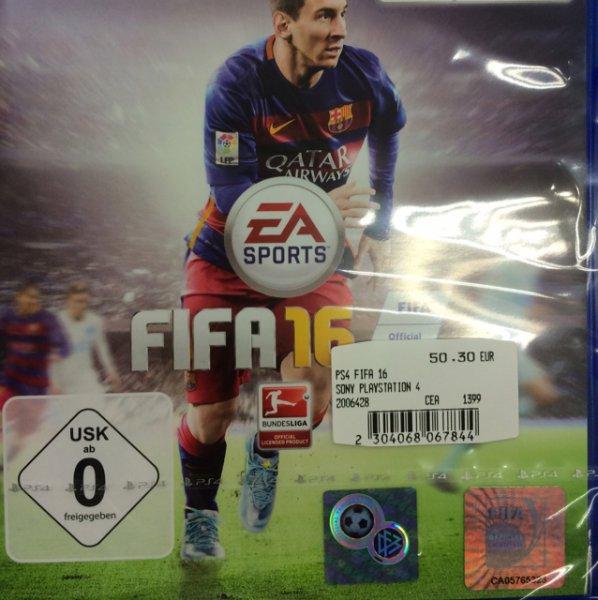 FIFA 16 für ps4 Mediamarkt Fulda 50,30€