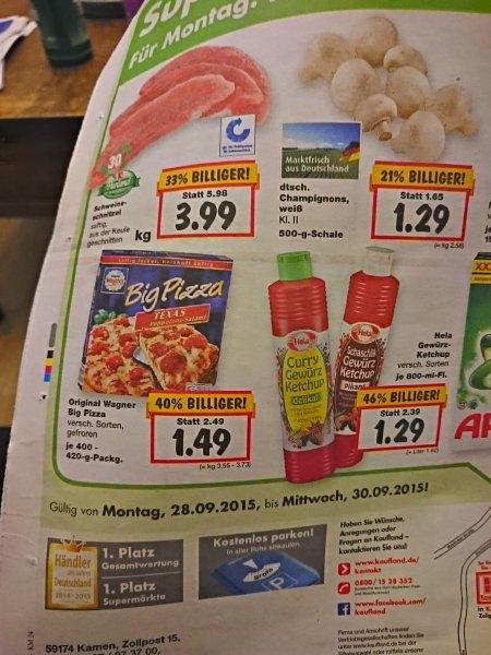 Kaufland  [lokal kamen?] Big Wagner Pizza