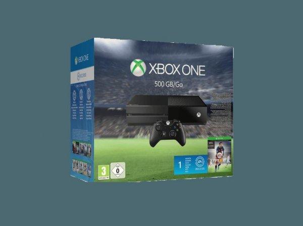 Xbox One Konsole 500GB inkl. FIFA 16