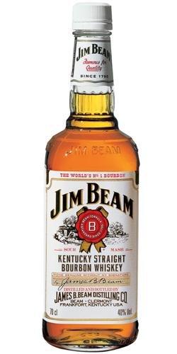 Jim Beam Weiß Kentucky Straight Bourbon Whiskey (1 x 0.7 l)