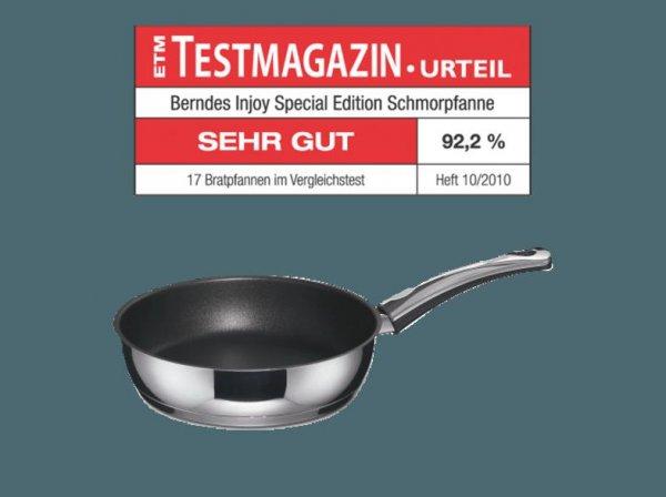 Berndes Injoy Special Edition Schmorpfanne 28 cm (Induktionsfähig) 11,90 EUR @METRO