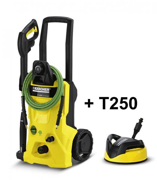 Kärcher K 4.800 eco!ogic Hochdruckreiniger, inklusive T250 Flächenreiniger + Zubehör für 199,95 € statt 239,00 €, @Ebay