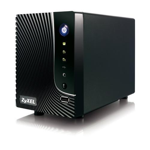 [Amazon] Zyxel NSA-221 NAS Media Server und Syslog Server für 2 Festplatten