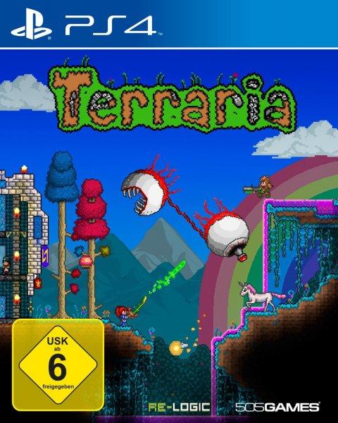 Terraria – PlayStation®4 Edition für 7,60€ (3,80€ für PS Plus Mitglieder) @PSN