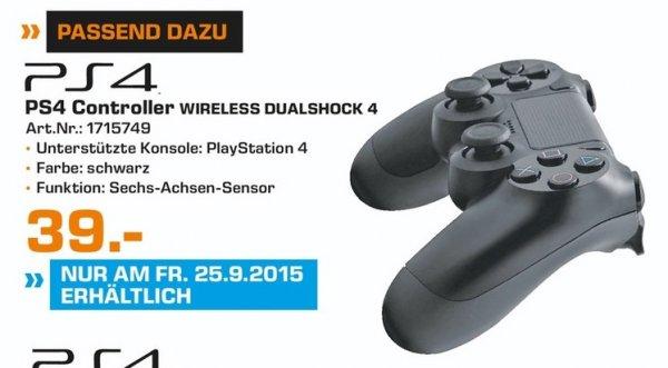 [Lokal Trier] PLAYSTATION 4 500GB - 294 € + DUALSHOCK 4 CONTROLLER - 39 € (nur am 25.09.15)