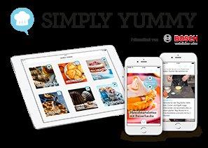 [ IOS+Android App ] SIMPLY YUMMY 50 Traumhafte Back-Rezepte als Video- und Foto-Tutorials