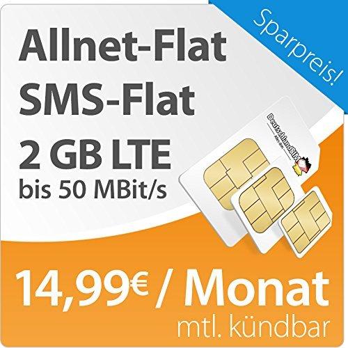 DeutschlandSIM LTE M bei Amazon mit reduziertem Anschlusspreis