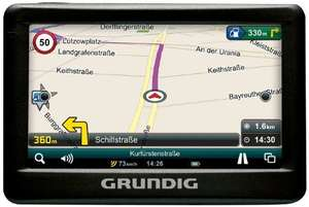Grundig DP1 Navigationsgerät für Europa, für 49,99€ statt 79,99€ @Amazon