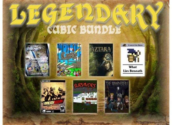 [Steam] Cubicbundle  - Legendary Cubic Bundle - 6 Steam Games - 1 Non-Steam  [0,89 Euro]