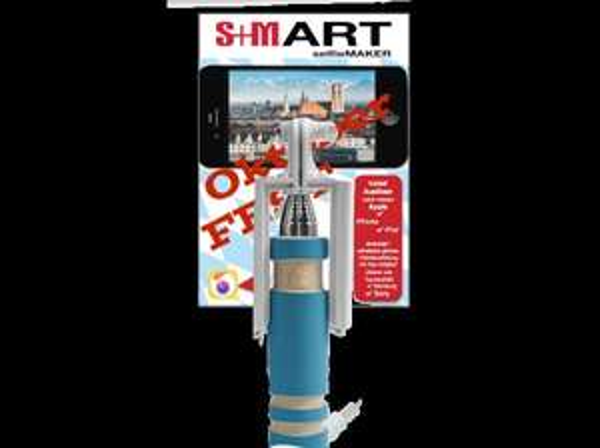 S+M SEL4AK Selfistick (Farbe: Blau) für 9,90€ inkl VSK @ Media Markt